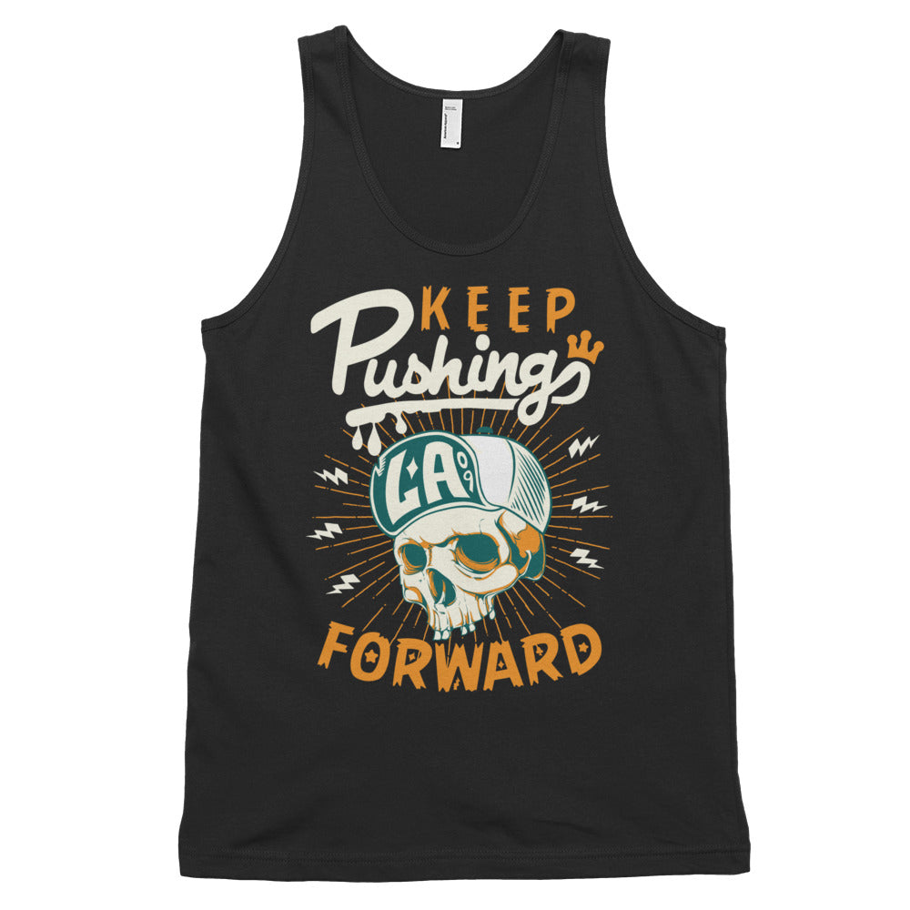 """Keep Pushing LA Forward"" Classic tank top (unisex)"