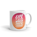 """Laugh Often"" Mug"