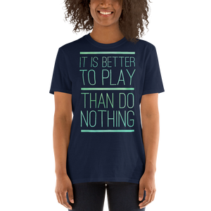 """Play"" Short-Sleeve Unisex T-Shirt"