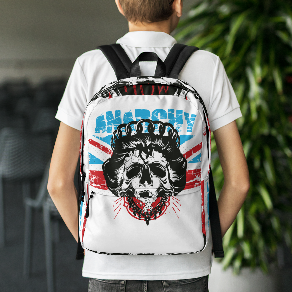 Anarchy Skull Backpack