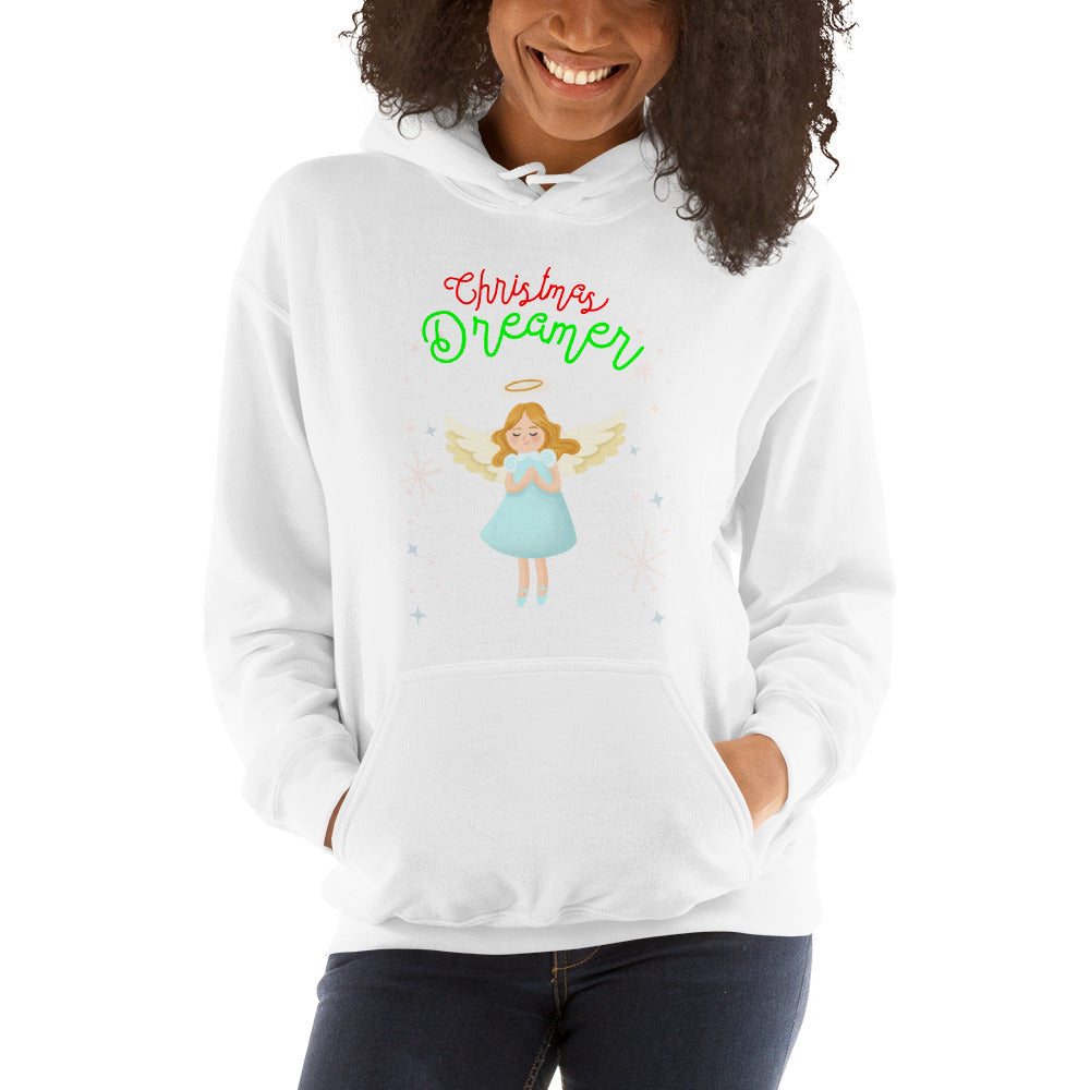"""Christmas Angel"" Hooded Sweatshirt"