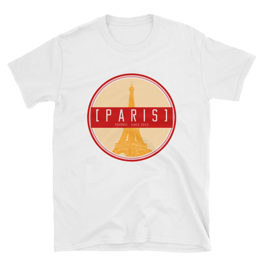 """Paris"" Short-Sleeve Unisex T-Shirt"