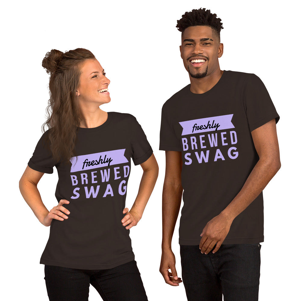 """Freshly Brewed SWAG"" Unisex Tee"