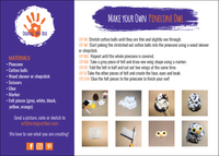 DIY Step by Step - Snowy Owl Pinecone Craft
