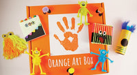 October Orange Art Box Contents