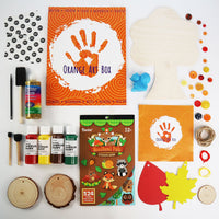 November Orange Art Box