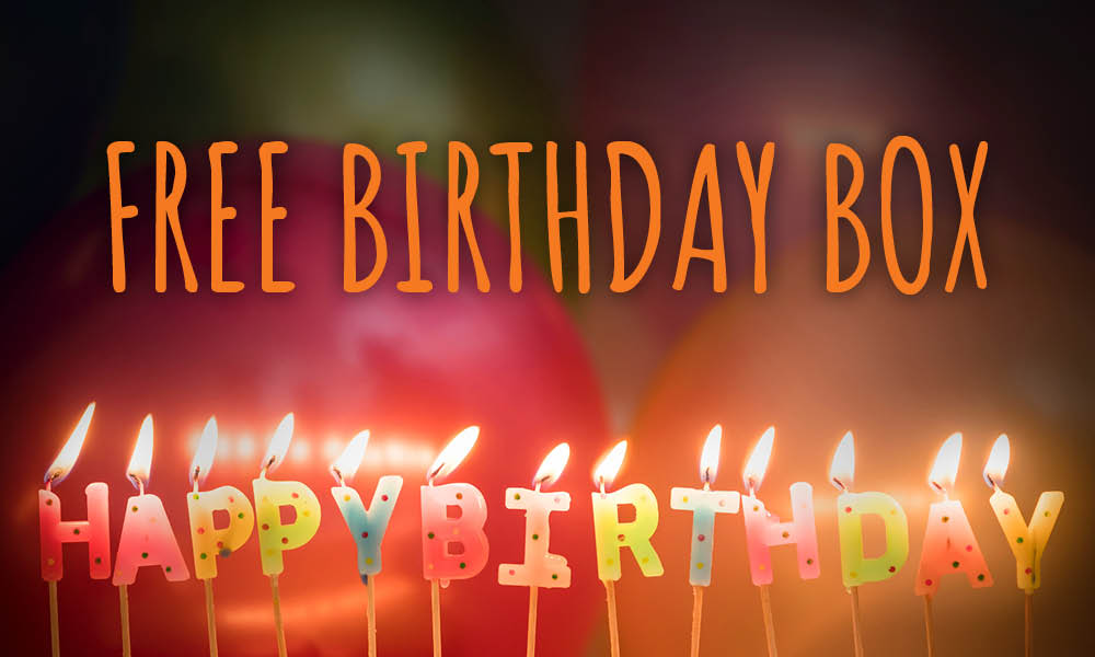 Free Birthday Box