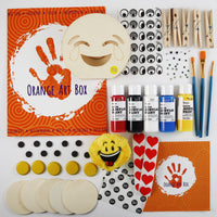 A Past Orange Art Box's Contents