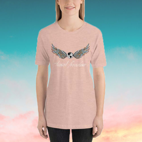 TRAVEL FREEDOM T-SHIRT VROUWEN