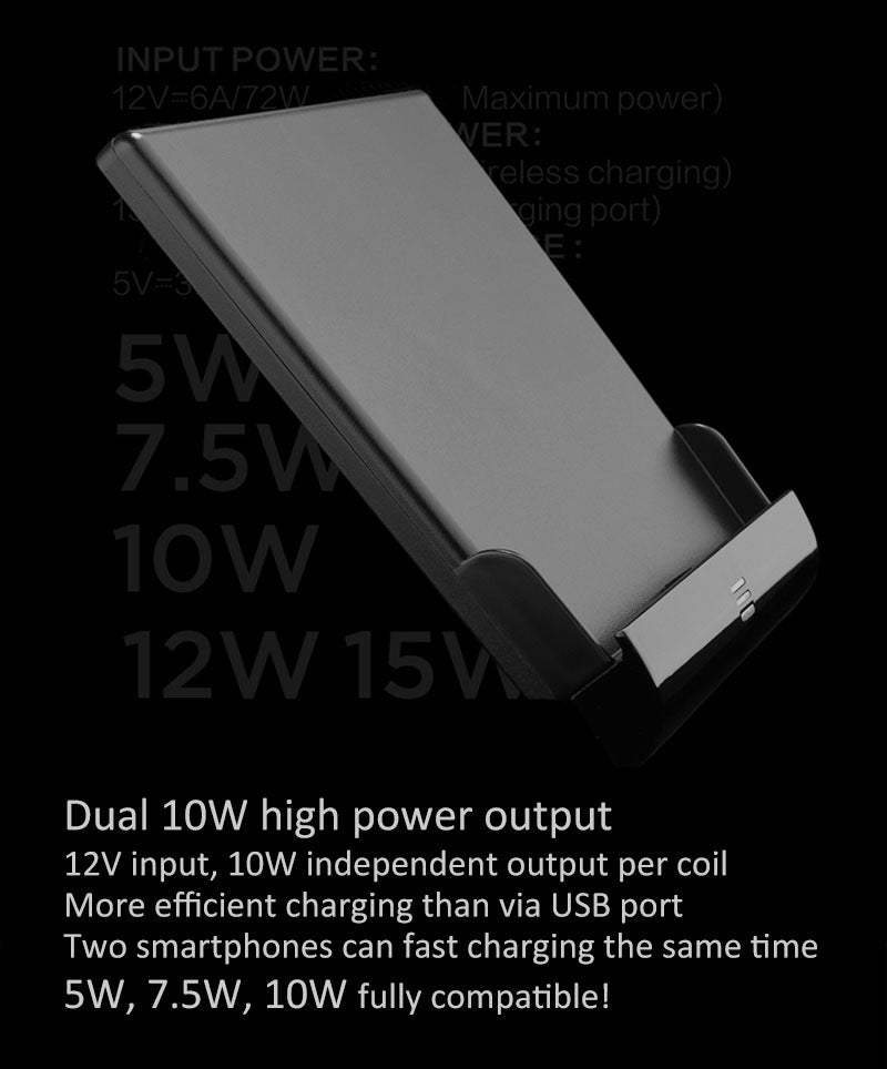 Dual 10W high power output