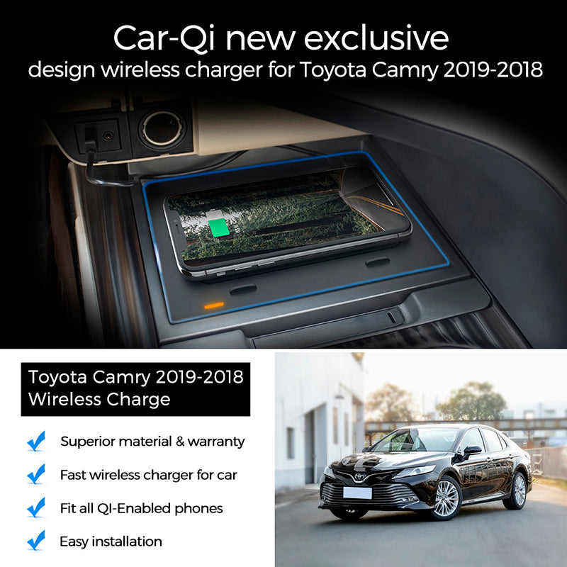 2019 2018 Camry Qi wireless Charging