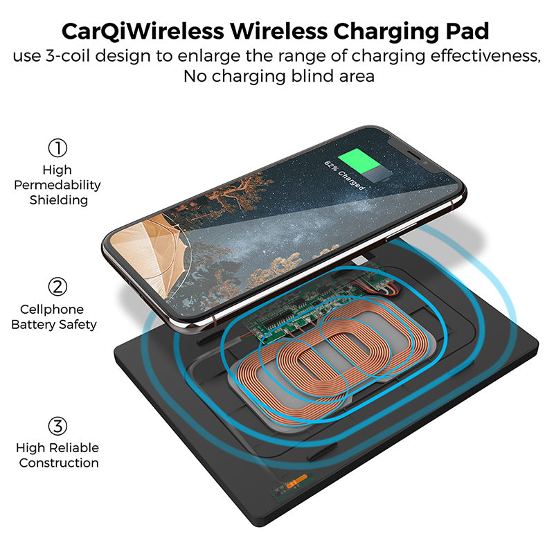 Camry Qi wireless Charging