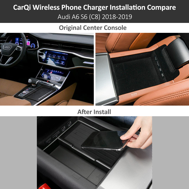 AUDI A6 2019 wireless charger