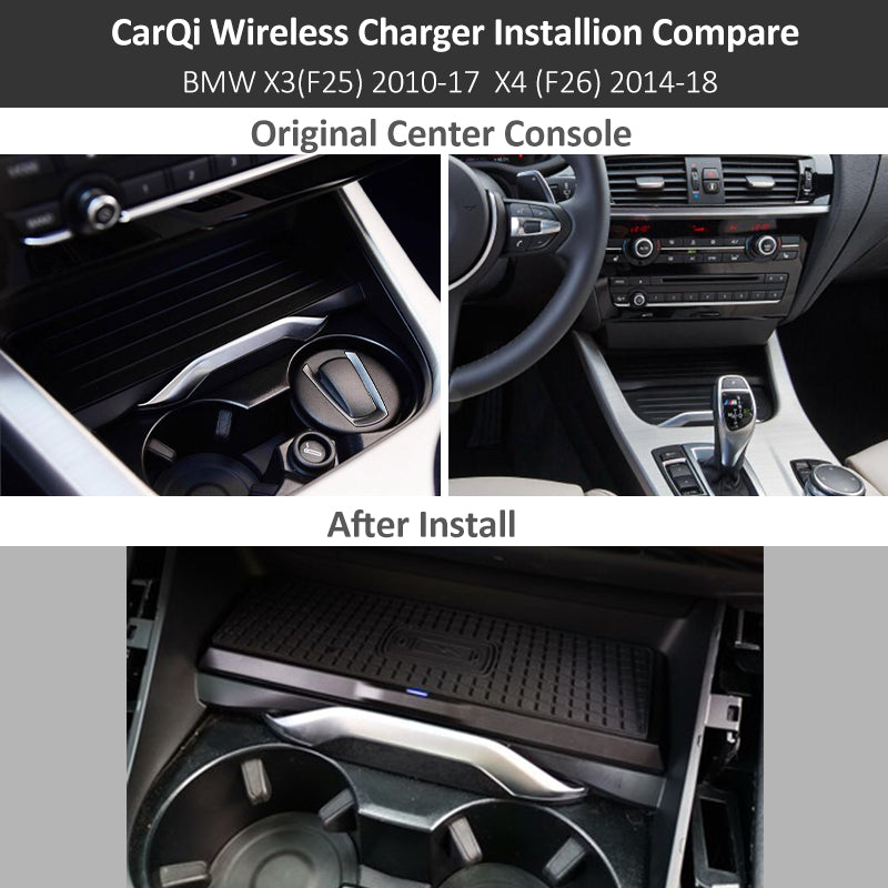 BMW Wireless Charging Wireless Charger X3 (F25) X4 (F26) 2013 2017