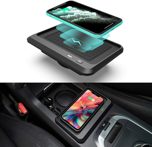 Car Wireless Charging for Land Rover Discovery Sport 2015-2019