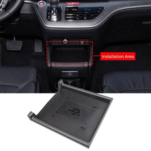 Qi Wireless Phone Charger for Honda Odyssey 2016 2017 2018