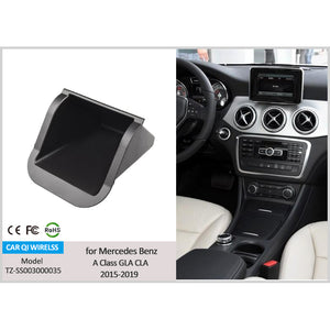 Wireless Phone Charger for Mercedes Benz A-Class GLA CLA 2013-2018