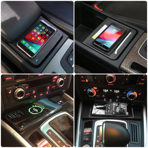 Wireless Phone Charger, Charging PAD for Audi Q5 SQ5 2013 2014 2015 2016 2017 2018 2019 2020