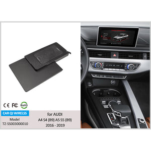 Wireless Charger for Audi A4 A5 S4 2009 - 2017 and 2016 - 2020