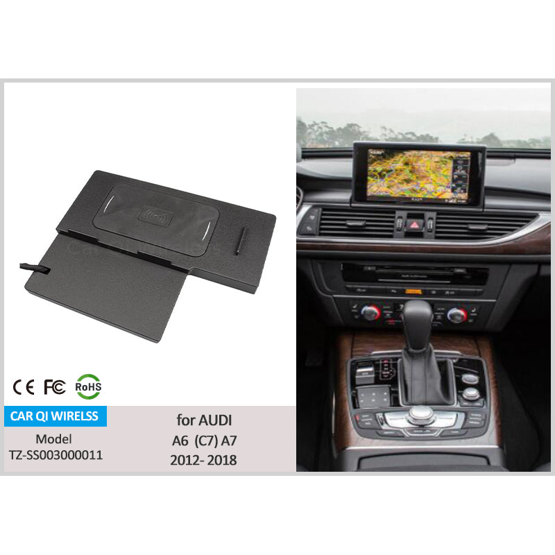 Wireless Charger For Audi A6 S6 A7 S7 2018 2017 2016 2015