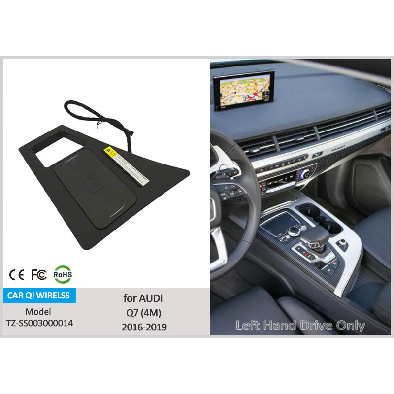 Wireless Charger for Audi Q7 2016-2019
