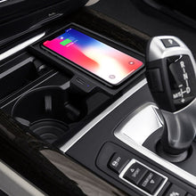 Load image into Gallery viewer, Wireless Charger BMW Wireless Charging Station X5 (F15) X6 (F16) 2014 2015 2016 2017 2018 Quick Charging