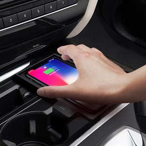 Wireless Charger BMW Wireless Charging Station X5 (F15) X6 (F16) 2014 2015 2016 2017 2018 Quick Charging
