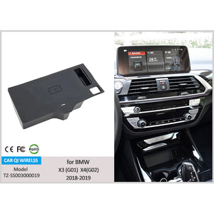 Wireless Phone Charger for BMW X3 (G01) X4 (G02) 2018-2020