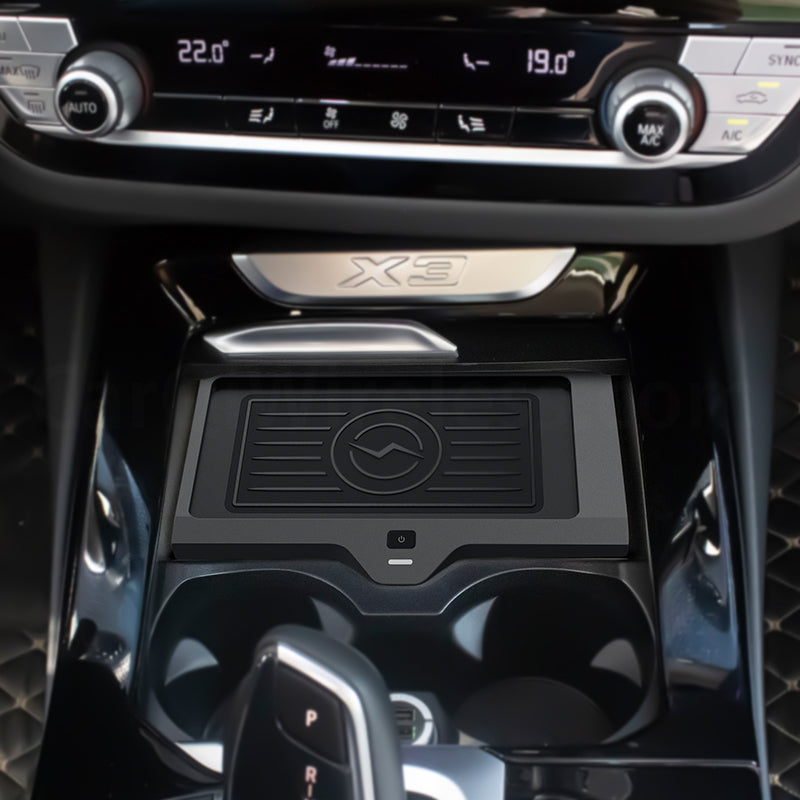 BMW Wireless Charging for BMW X3 X4 2018 2019 2020, easy install from USB