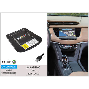 Wireless Charging PAD for Cadillac XT5 2016-2020