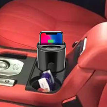 Load image into Gallery viewer, CarQiWireless Universal Car Cup Holder Wireless Charger