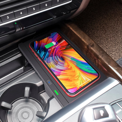 X5 X6 Wireless Phone Charger BMW wireless charging Accessories 2014-2018, easy install