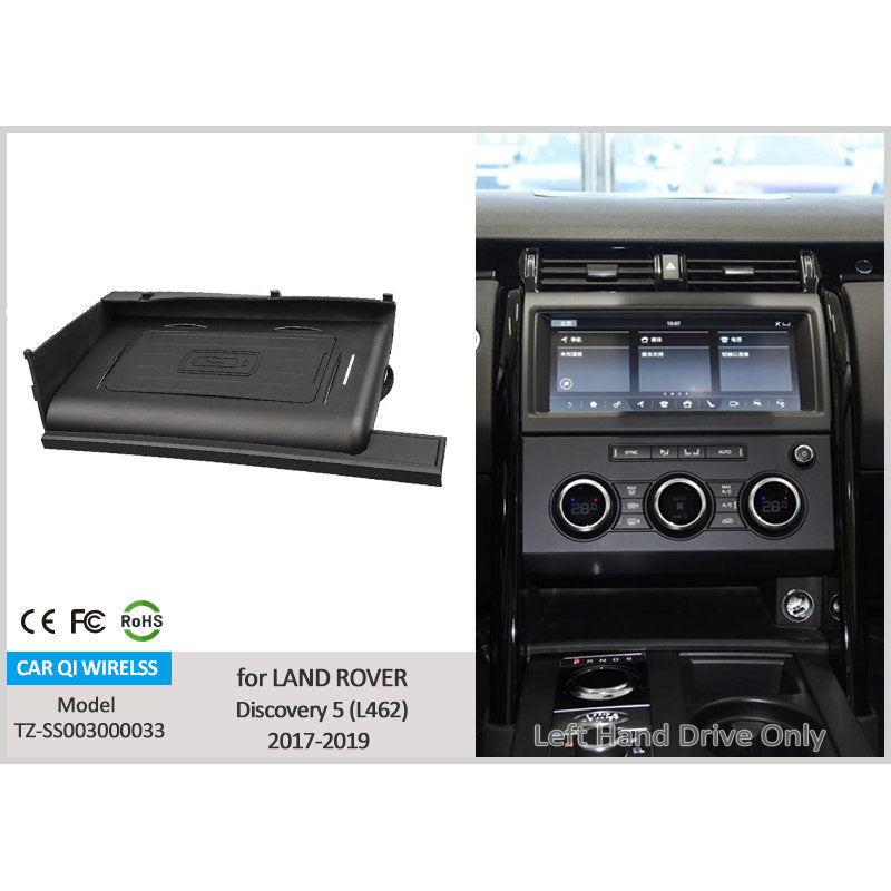 CarQiWireles Land Rover Discovery 5 (L462) 2016-2019 Wireless Charger