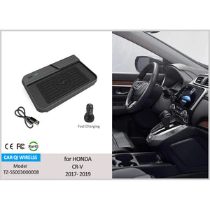 Best Wireless Phone Charger for Honda CR-V 2017-2020, Install Easy | CarQi