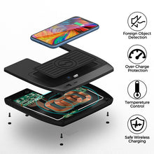 Load image into Gallery viewer, Civic Wireless Charger, Phone Charging Pad Honda Accessories 2016 2017 2018 2019 2020