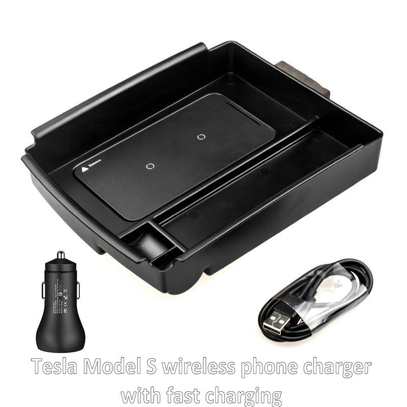 Wireless Phone Charger for Tesla Model S Model X 2018 2017 2016