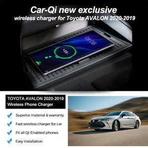 Wireless Phone Charger for Toyota Avalon 2020 2019 - CarQi