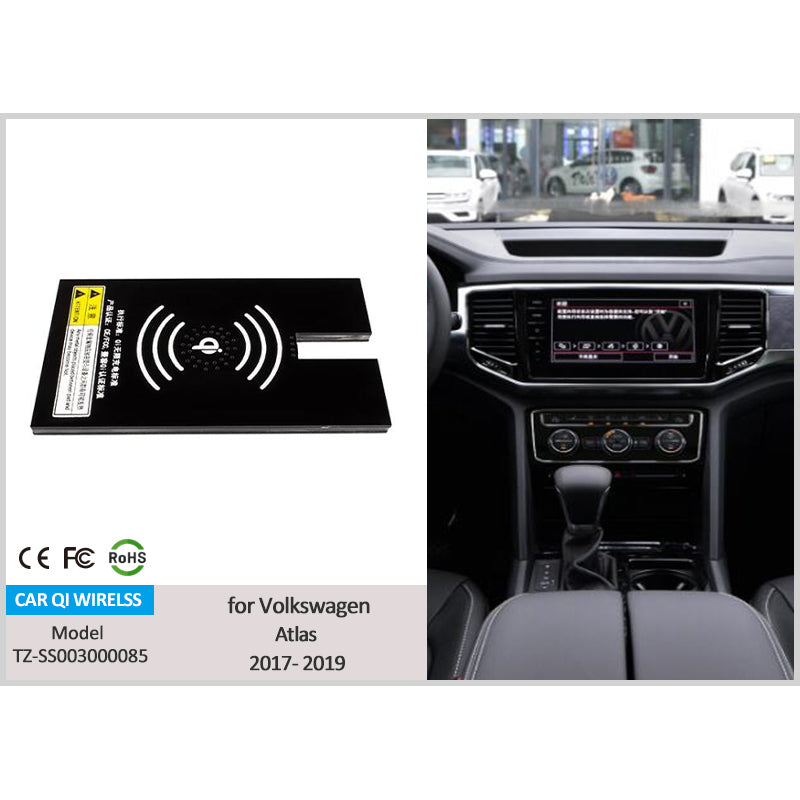 Volkswagen Atlas 2019 2018 2017 wireless phone charging tray