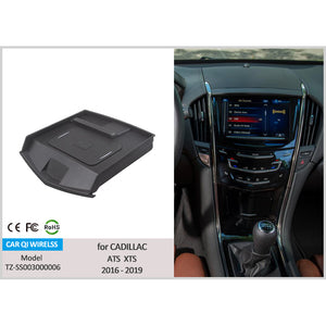 Wireless Phone Charger for Cadillac XTS SRX ATS 2016 2017 2018 2019