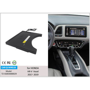 CarQiWireless Wireless Phone Charger for Honda HR-V / Vezel 2020 2019 2018 2017