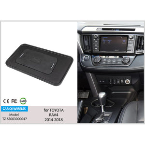 Wireless Phone Charger for Toyota RAV4 2014-2018