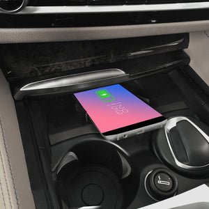 Wireless Phone Charger Tray for BMW 5 Series 6 Series G30 G38 F90 525i 2019 2018