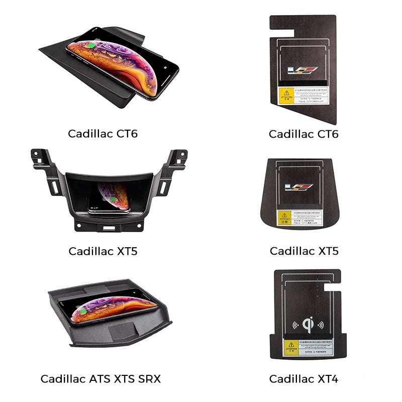 Wireless Charger for Cadillac XT4\XT5\CT6\ATS\XTS\SRX