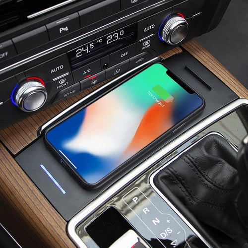 Wireless Charger for Audi A7 S7(2014-2018),A6 S6  C7 (2012-2018)