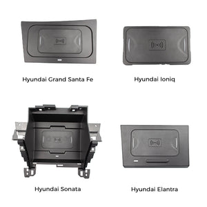 Wireless Charger for Hyundai Sonata\Elantra\Grand Santa Fe\Ioniq