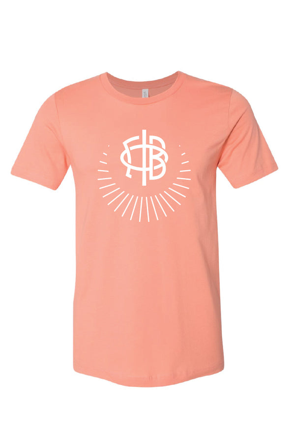 Sunset Logo Tee - Crescent Corner - Gamma Phi Beta Official Online Store