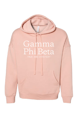 Simply Peachy Hoodie - Crescent Corner - Gamma Phi Beta Official Online Store