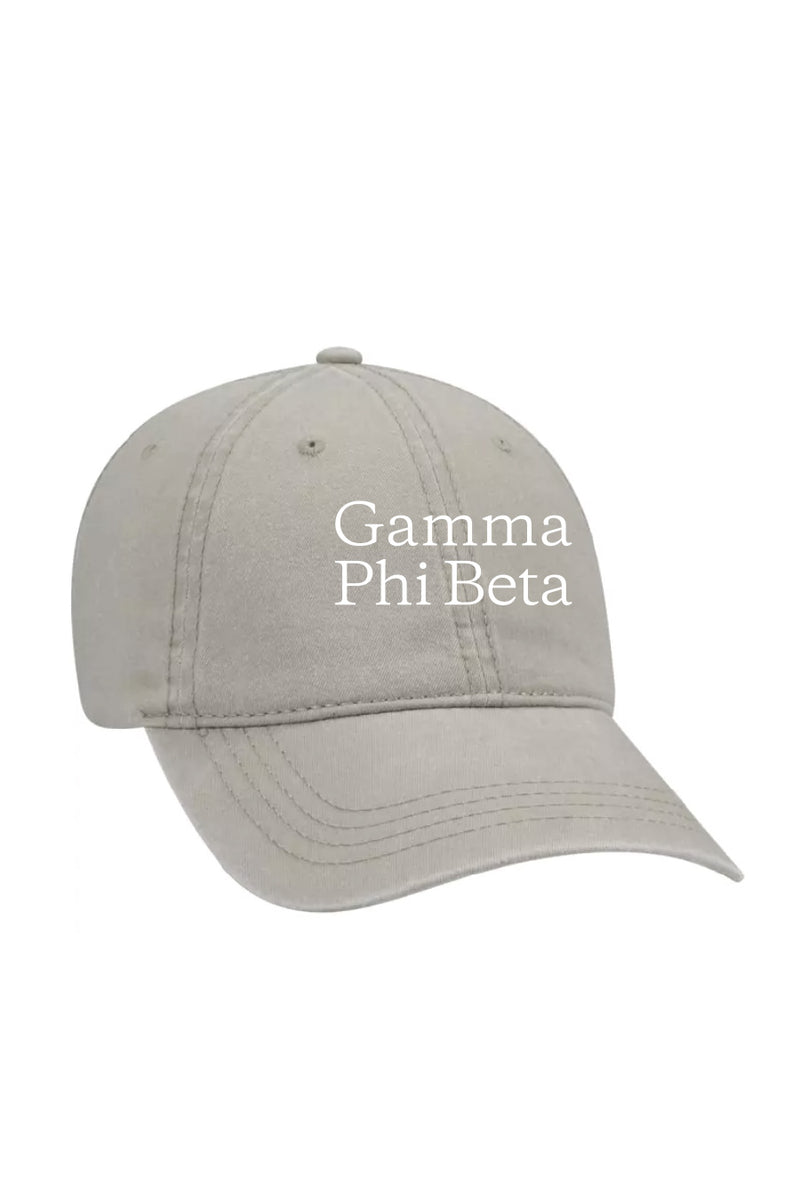 The Classic Hat - Crescent Corner - Gamma Phi Beta Official Online Store