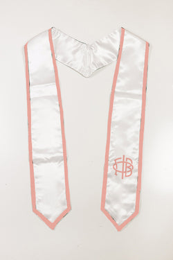 Graduation Stole - New Logo - Crescent Corner - Gamma Phi Beta Official Online Store