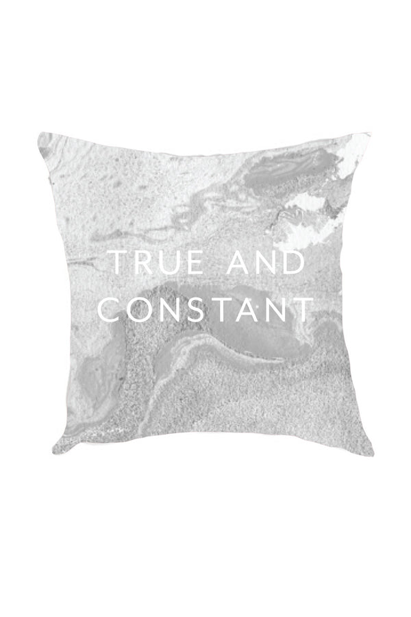 Grey Marble Pillow - Crescent Corner - Gamma Phi Beta Official Online Store